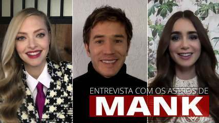 Amanda Seyfried, Lily Collins e Tom Pelphrey falam sobre trabalho em 'Mank'