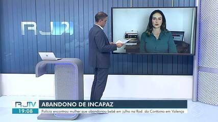 Polícia encontra mulher responsável por abandonar recém-nascido em Valença