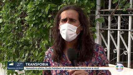 Vereadora Duda Salabert denuncia ameaça de morte