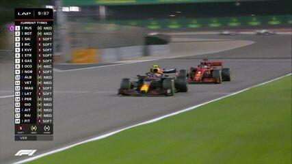 Sakhir GP: Vettel ultrapassa Albon