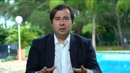 Rodrigo Maia: 'Minha cabeça sempre foi da escolha de um sucessor'