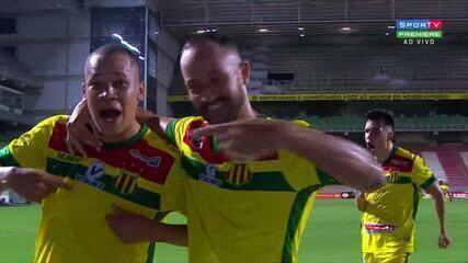 Última vez que Caio Dantas marcou gol na temporada