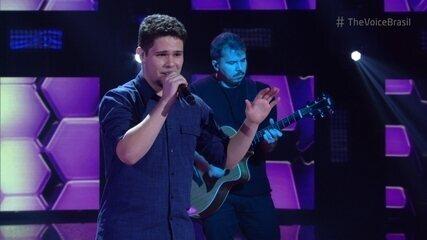 Dan Gentil canta 'Dois Rios' nos Shows ao Vivo