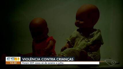 ES registrou 259 casos de abuso sexual de crianças entre janeiro e julho de 2020