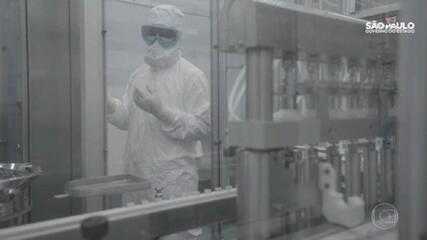 Instituto Butantan já começou a produzir a vacina CoronaVac em São Paulo