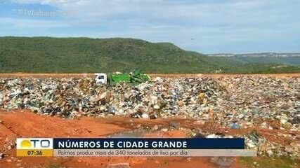 Palmas produz mais de 340 toneladas de lixo por dia; reciclagem pode ser uma boa ideia