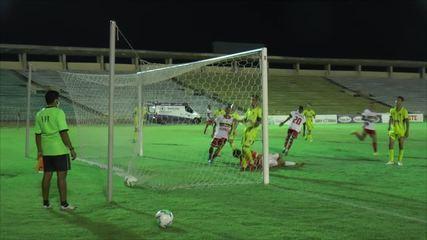 Os gols de River-PI 5 x 0 Santo Antônio-MS pelas oitavas de final da Copa do Brasil sub-17