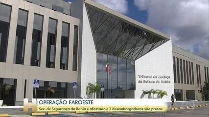Operação Faroeste: STJ manda prender desembargadoras da BA; Secretário da SSP é afastado