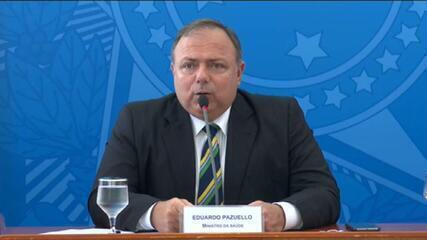 Pazuello afirma que não haverá termo de responsabilidade para vacina registrada