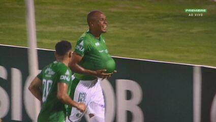 Veja o gol da última vitória do Guarani no Brinco de Ouro, em 16 de dezembro