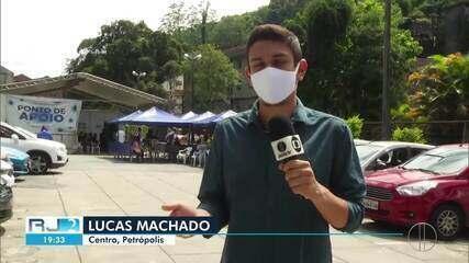 Hospital de Petrópolis, RJ, não tem vagas para pacientes com a Covid-19