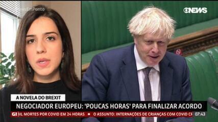 Brexit: negociador europeu lembra que faltam poucas horas para finalizar acordo comercial