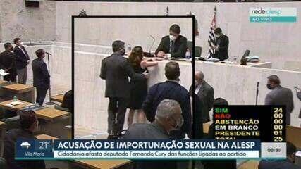 Cidadania afasta deputado Fernando Cury após denúncia de importunação sexual na Alesp