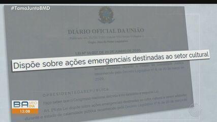 Artistas baianos reclamam de falta de pagamento do auxílio emergencial há nove meses