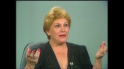 Nicette Bruno 'se preservou o tempo todo' da Covid-19, diz Elizabeth Savalla