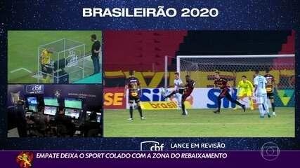 Sport empata com Grêmio e fica colado na zona de rebaixamento