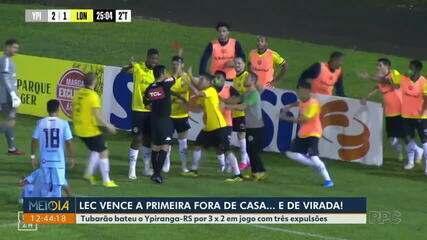 Londrina vence primeira partida fora de casa por 3x2