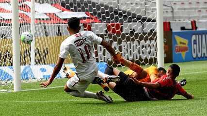 Melhores momentos: Athletico-PR 1 x 2 Fluminense pela final do Brasileirão Sub-17