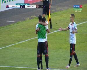 Gol do Xavante! Bruno José avança e toca para Luiz Henrique marcar, aos 17' do 2'T