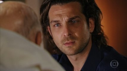 Dionísio avisa a Alberto que ele precisa calar Samuel definitivamente