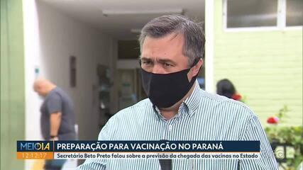 Beto Preto fala sobre a preparação no Paraná para receber a vacina