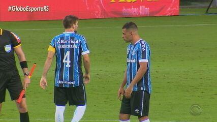 Diego Souza sofre com marcação, mas decide pelo Grêmio com o gol da vitória