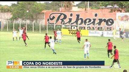 Altos vence Globo e se aproxima da fase de grupos da Copa Nordeste