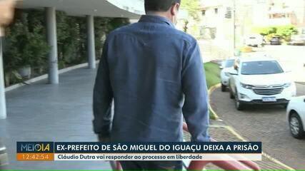Ex-prefeito de São Miguel do Iguaçu deixa a prisão