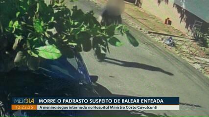 Morre o padrasto suspeito de balear enteada, em Foz