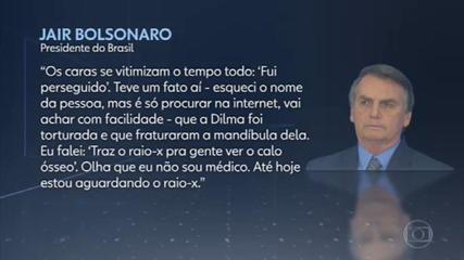Autoridades repudiam fala de Bolsonaro que põe em dúvida tortura de Dilma na ditadura