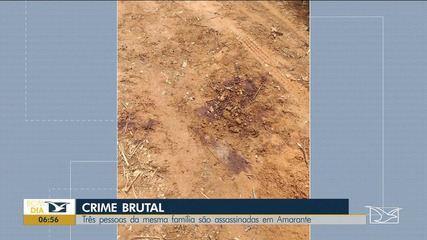 Três pessoas da mesma família são assassinadas em Amarante