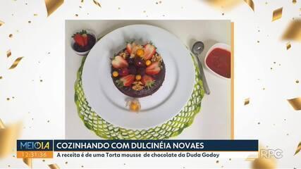 """A dica do """"Cozinhando com Dulcinéia Novaes"""" é uma torta fit para as festas de réveillon"""