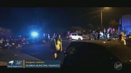 Festas de réveillon causam aglomerações na região de Campinas