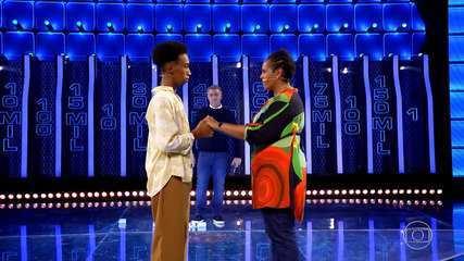 Cátia e Lucas vão ao 'The Wall' para ajudar projeto social de dança