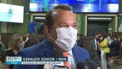 Geraldo Junior é reeleito presidente da Câmara de Municipal de Salvador