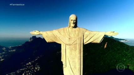 Cristo Redentor 90 anos: projeto original teria cruz e globo nas mãos