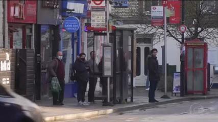 Reino Unido decreta terceiro lockdown para conter nova variante do Coronavírus