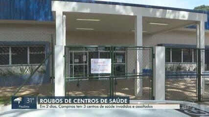 Bandidos amarram vigilante e roubam 18 CPUs de computadores de posto de saúde em Campinas