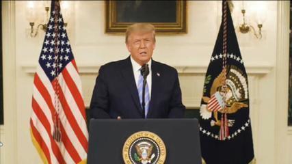 Donald Trump divulga vídeo pedindo união nos EUA