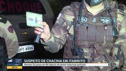 Suspeito acaba preso após tentar enganar e subornar policiais militares em Belo Horizonte