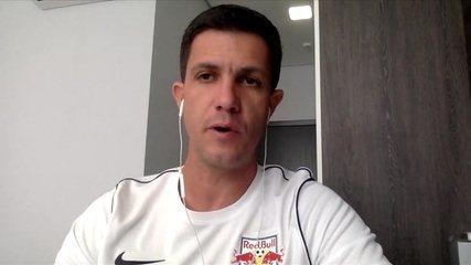 Maurício Barbieri, técnico do Bragantino, fala sobre a vitória em cima do São Paulo