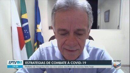 Prefeito de Varginha anuncia novas medidas de combate à Covid-19