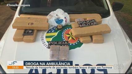Servidor é preso suspeito de usar ambulância da prefeitura para transportar drogas