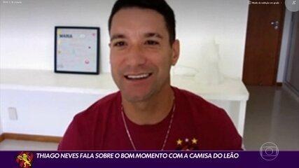 Thiago Neves fala sobre o momento com a camisa do Sport