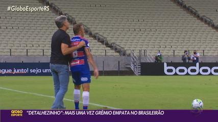 Grêmio empata com o Fortaleza e perde força em arrancada na briga pelo título