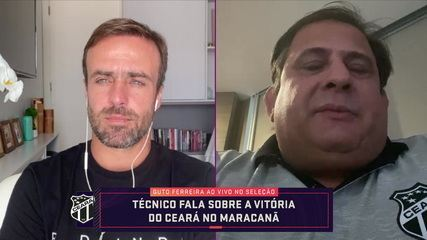 Guto Ferreira fala sobre vitória sobre o Flamengo e boa temporada do Ceará