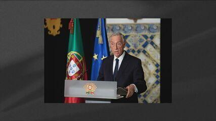 Presidente de Portugal Marcelo Rebelo está com Covid-19