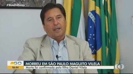 Veja um resumo do histórico político de Maguito Vilela