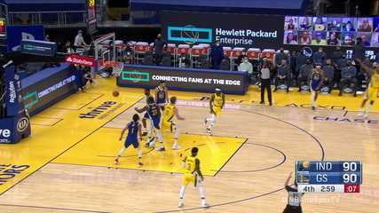 Melhores momentos: Golden State Warriors 95 x 104 Indiana Pacers pela NBA