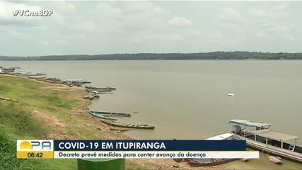 Prefeitura de Itupiranga emite decreto que aumenta restrições para combater a Covid-19